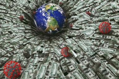Ve snaze zachránit koronavirem ochromené hospodářství do něj vlády ve spolupráci s centrálními bankami v posledních měsících pumpují biliony dolarů.