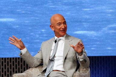 Šéf Amazonu Jeff Bezos.