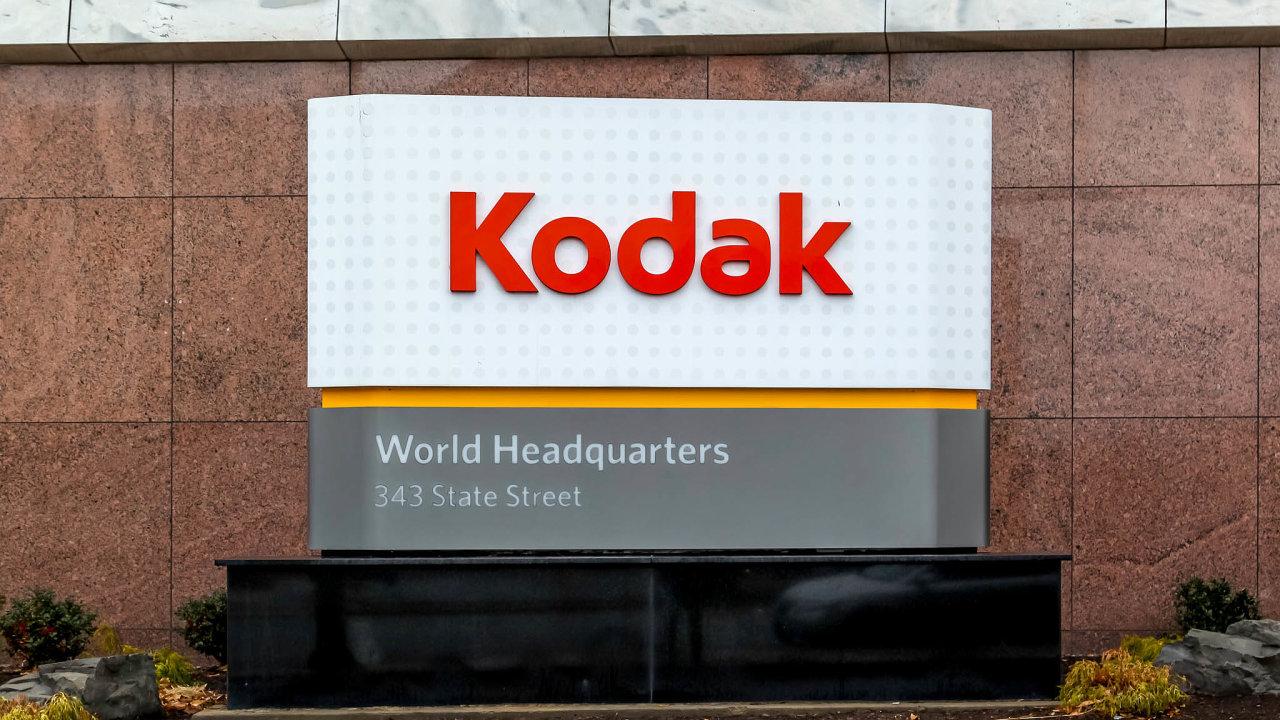 Společnost Kodak sídlí v Rochesteru ve státě New York. Místo vybavení pro fotografy nyní vyrábí látky pro farmaceutický průmysl.