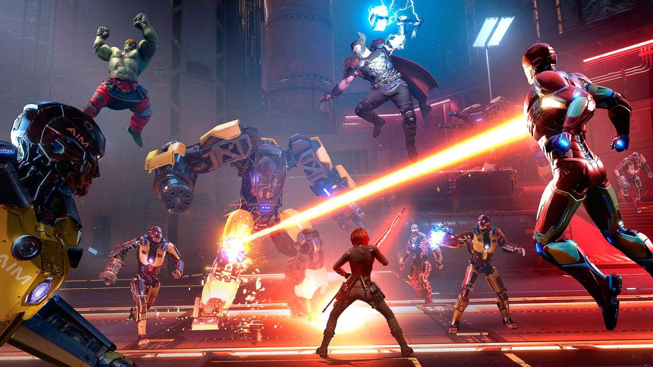 Zábava naroky. Nová hra se superhrdiny Avengers stojí naprincipu dokupování nových postav. Dohry budou doplňovány postupně, aby uní hráči vydrželi co nejdéle.
