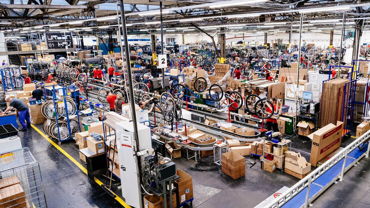 Nový vlastník výrobce kol Bike Fun International chce více expandovat do zahraničí. Kvůli tomu spustí vkopřivnické továrně další výrobní linku.