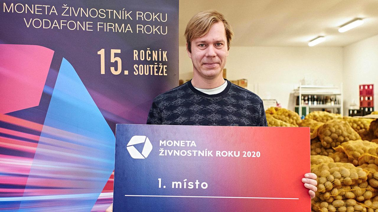 Kamil Kublák, MONETA Živnostník roku 2020 Moravskoslezského kraje