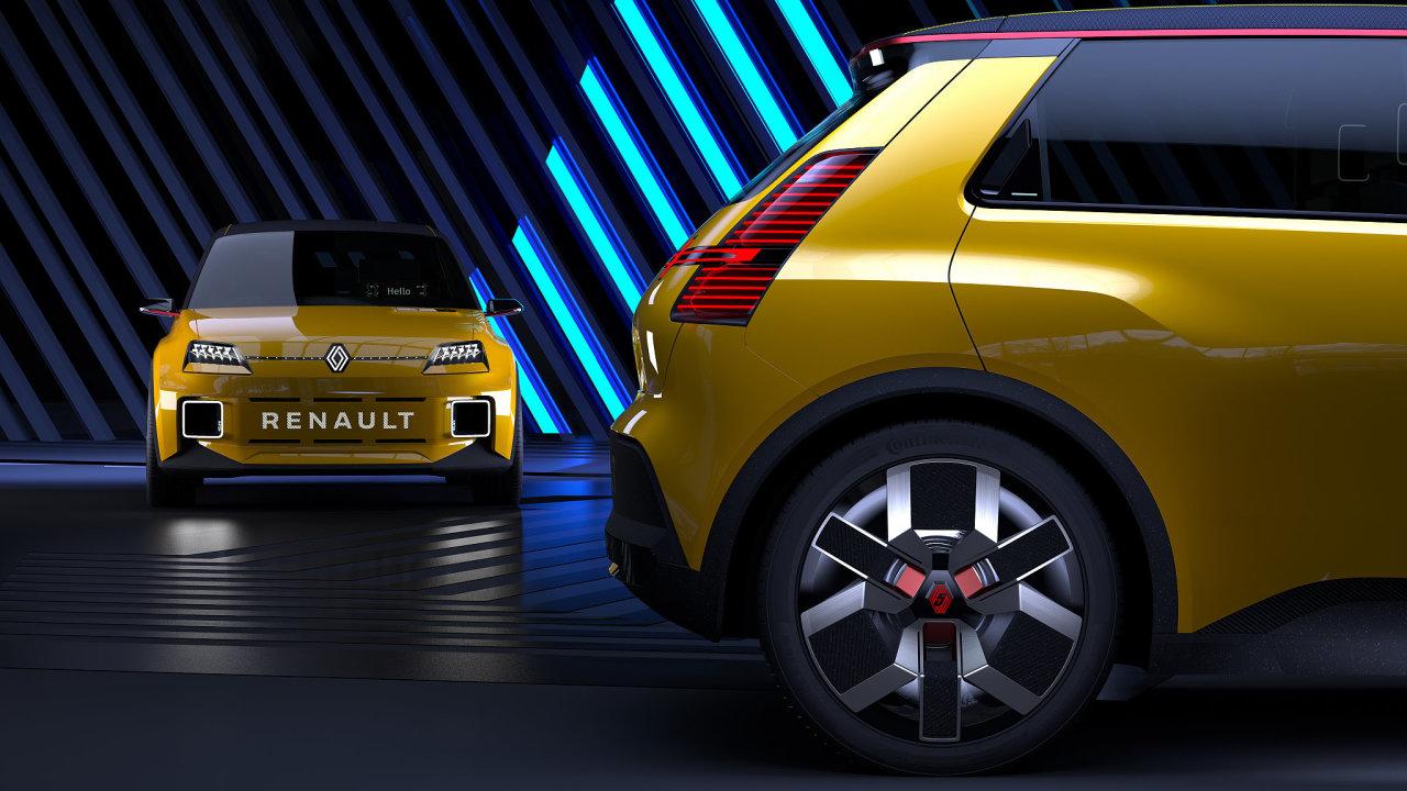 Prototyp elektrického Renaultu 5