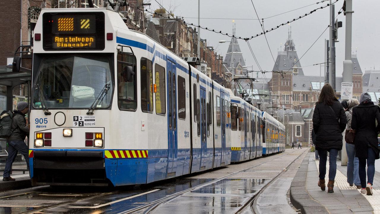 Hlavní město Nizozemska Amsterdam.