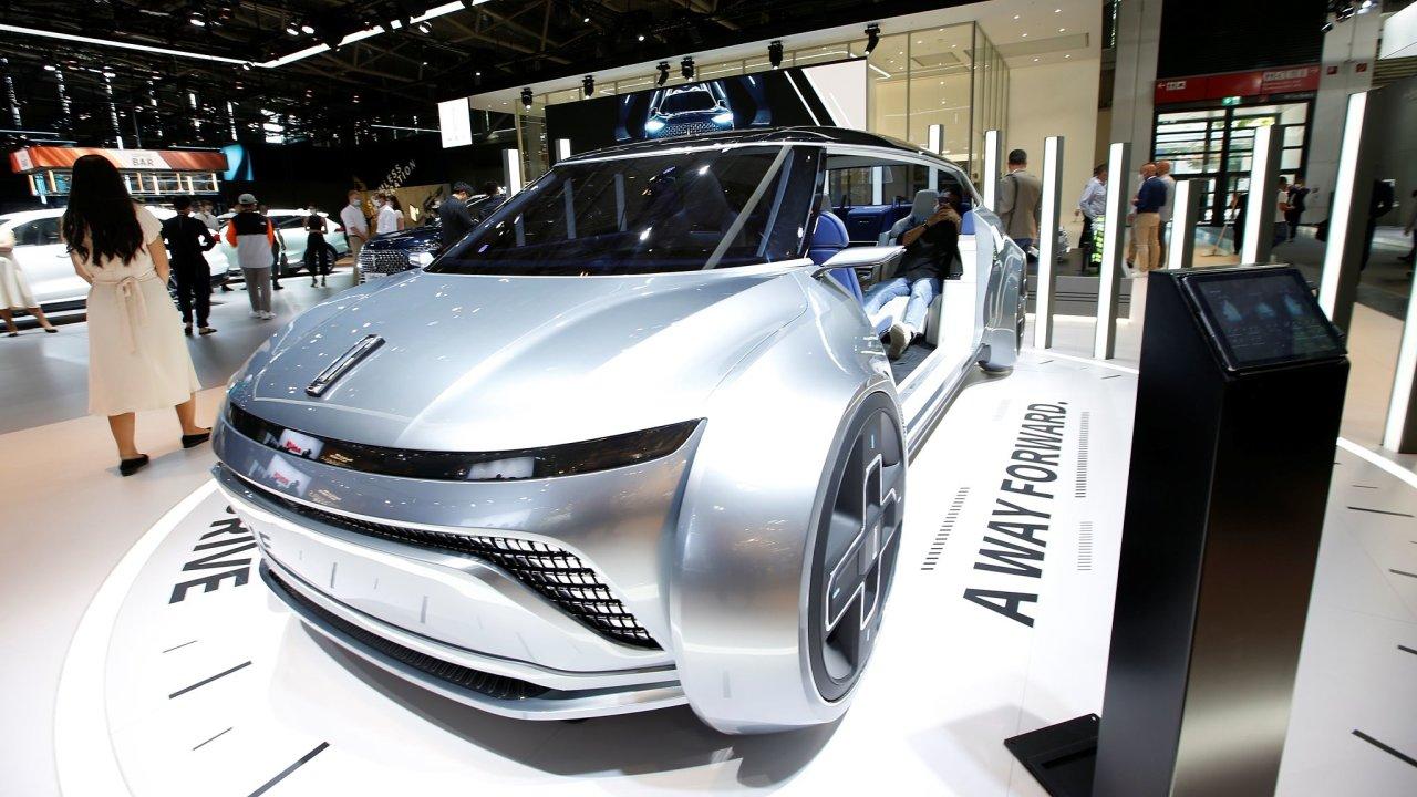 Čínská značka Wey, dceřiná firma koncernu Great Wall Motors, představila v Mnichově například koncept elektromobilu iNest 2.0.