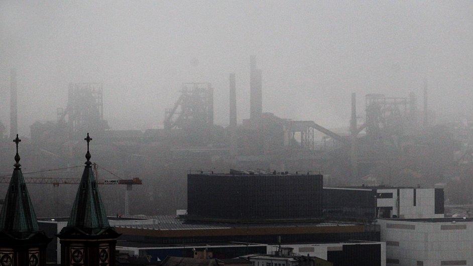 Špatná kvalita ovzduší v Ostravě