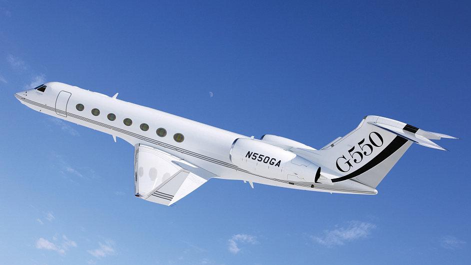 Soukromý tryskáč Gulfstream G550