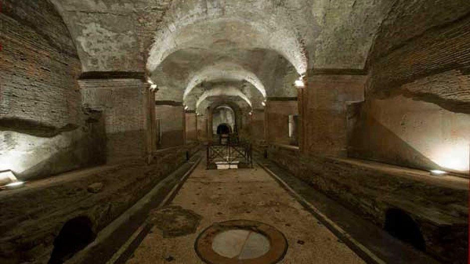 Caracallovy lázně jsou čerstvě otevřené po renovaci.