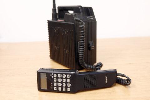 Historické mobilní telefony