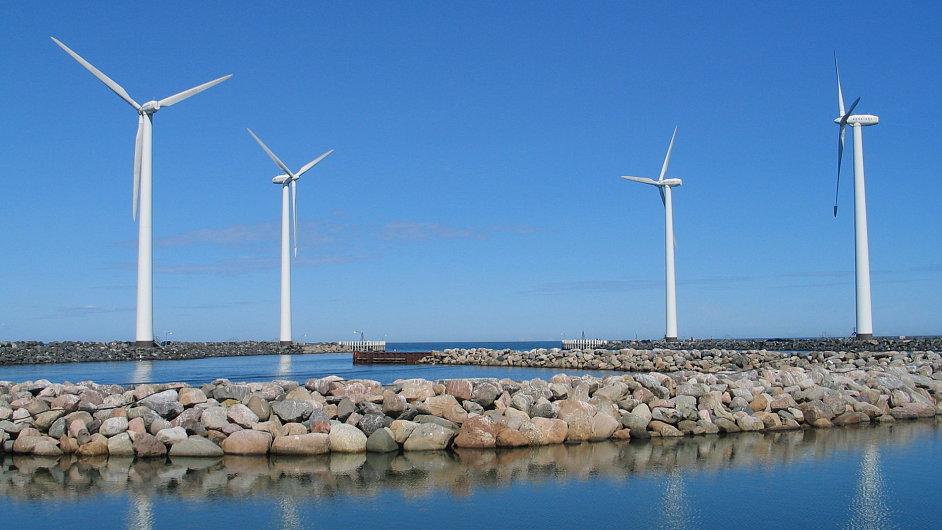 Větrná elektrárna v Dánsku