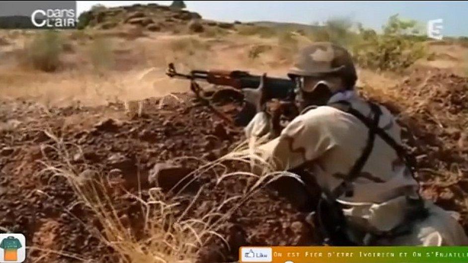Voják maliské armády