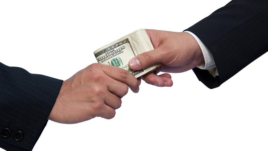 Korupce, ilustrační foto.