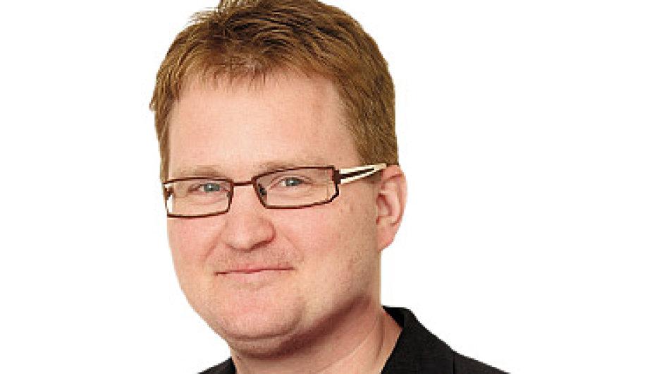 Robert Břešťan, šéfkomentátor týdeníku Ekonom
