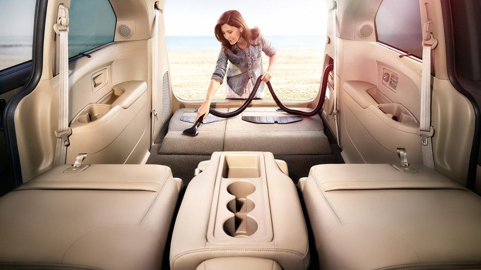 Honda Odyssey - vysavač HondaVAC