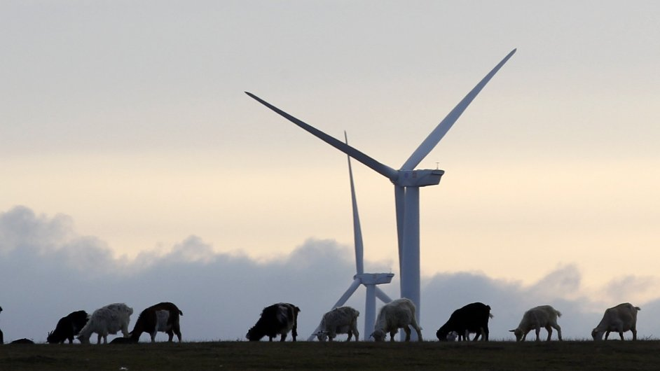 Větrná elektrárna ČEZ v Rumunsku