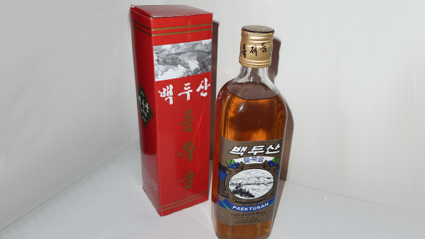 Severokorejský likér Tuldžuksul (Tuljjuksul)