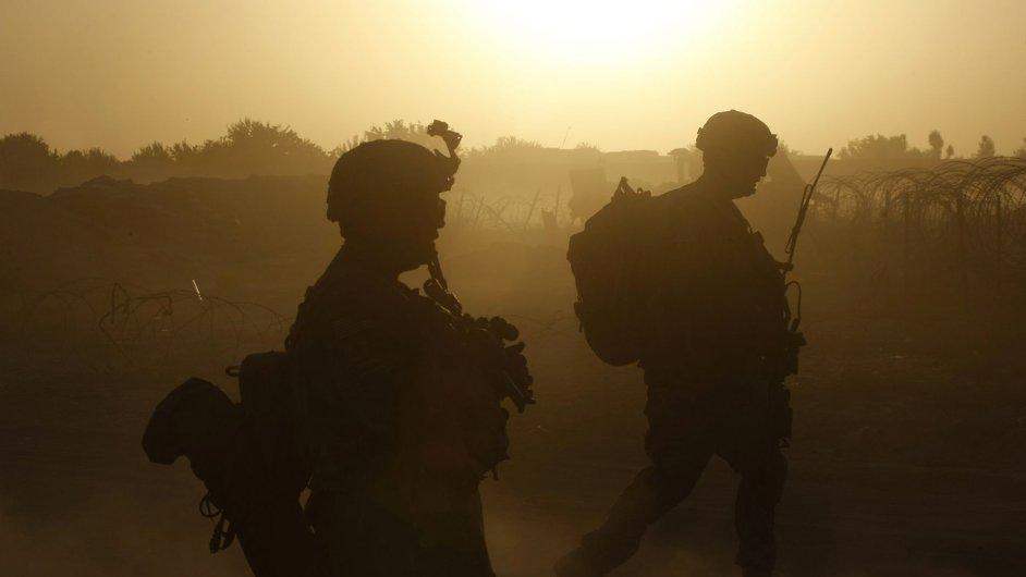 Ilustrační foto - vojáci v Afghánistánu