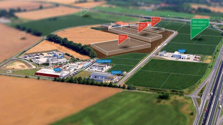 V Technologickém parku Olomouc bude zahájena další výstavba