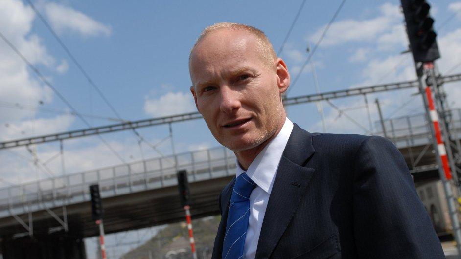Generální ředitel Českých drah Petr Žaluda.