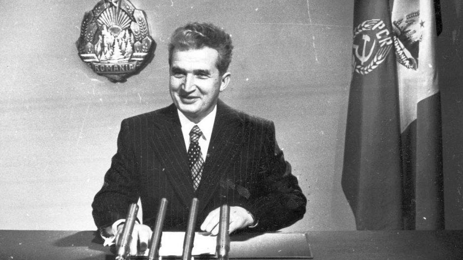 Rumunský diktátor Nicolae Ceaušescu