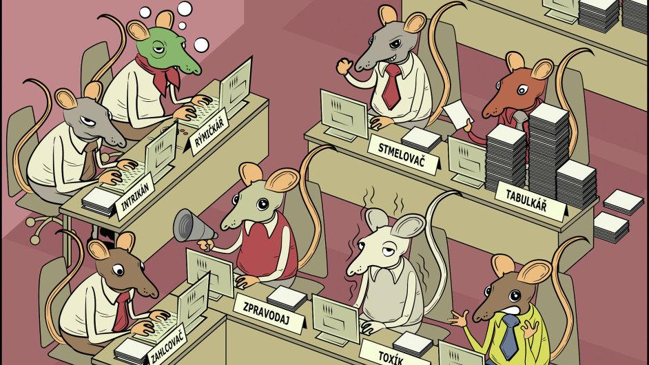 Archetypy kancelářských krys