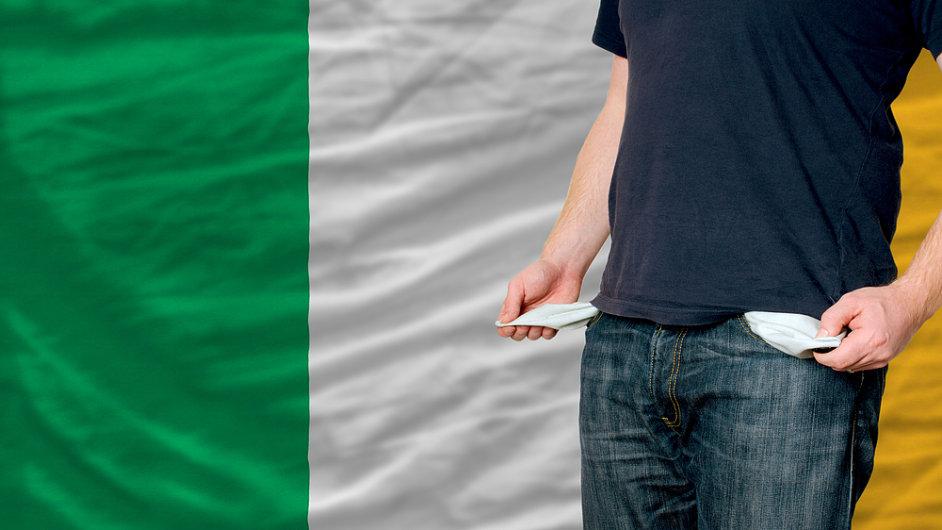 Irové doufají, že je jejich ekonomika z nejhoršího venku.
