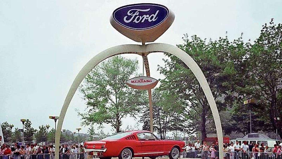 Automobilka Ford. Ilustrační foto