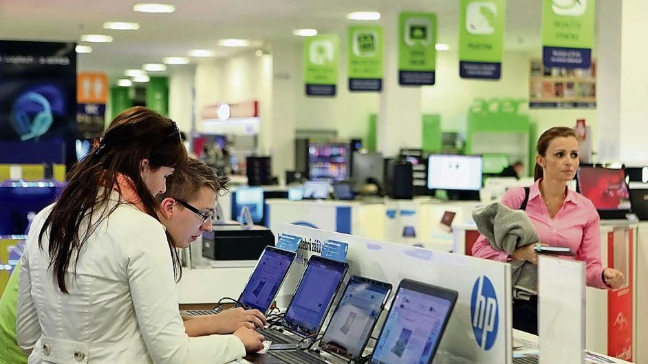 Showroom e-shopu firmy Alza.cz v Praze