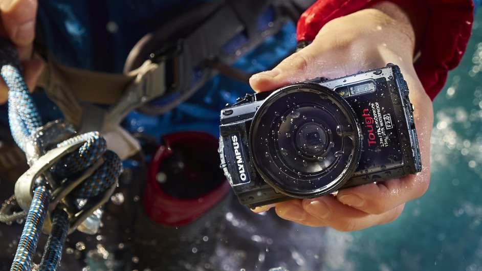 Odolný fotoaparát Olympus Stylus TG-3