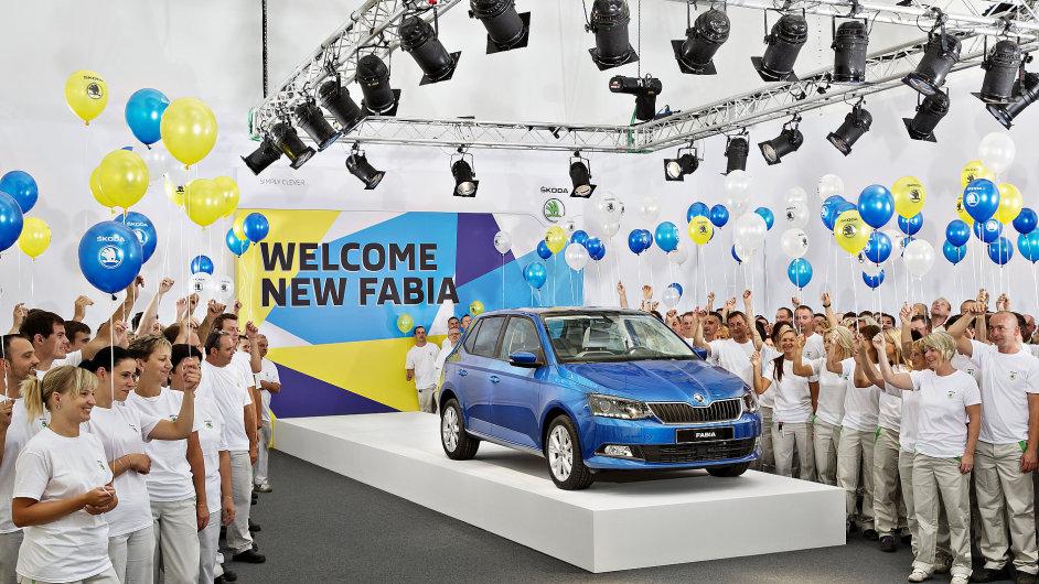 Škodě Fabia patří v posledních měsících pozice nejoblíbenějšího nového auta v Česku.