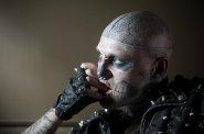 Rick Genest �e�en� Zombie Boy