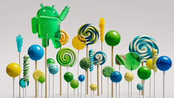 Android 5.0 Lollipop p�in�� nejv�t�� zm�ny za �est let v�voje