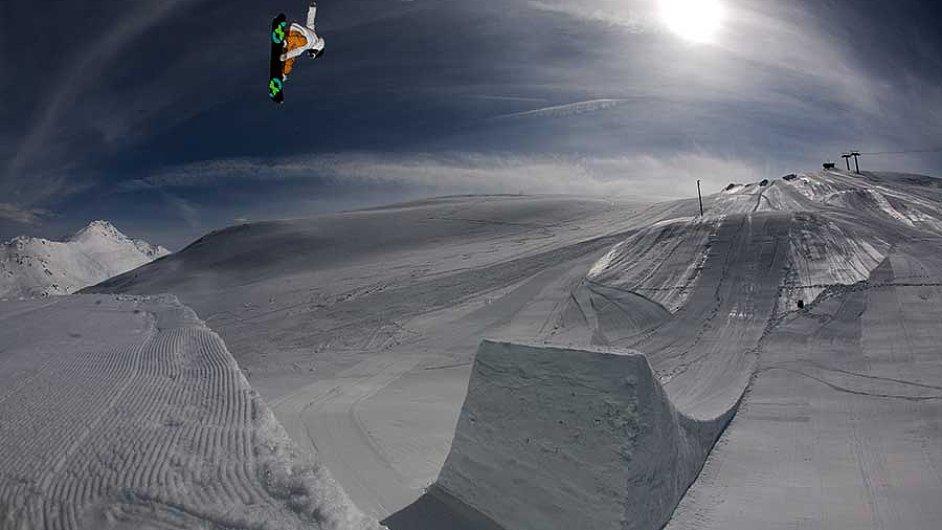 Snowpark v Livignu