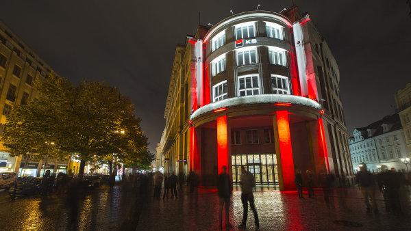 Budova v centru Prahy, kterou Komerční banka prodala za 1,5 miliardy korun.