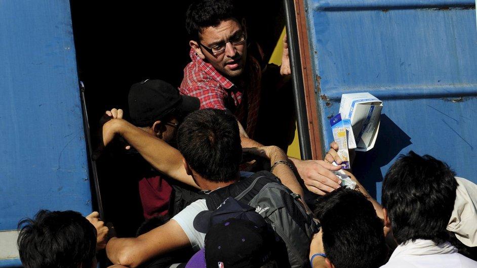 Počet běženců zadržených v ČR se v uplynulém týdnu zdvojnásobil.