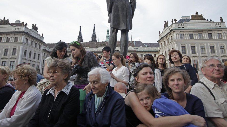 Za kulturou se na Hrad chodí výjimečně. Takovou výjimkou bylo loňské zakončení sezony České filharmonie.
