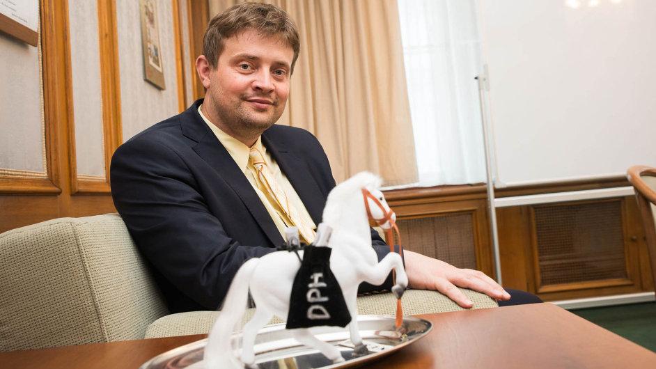 Martin Janeček, šéf Generálního finančního ředitelství.