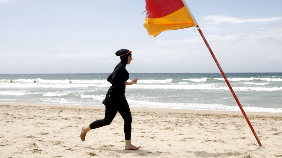 Burkini, burkiny, plavky pro muslimky
