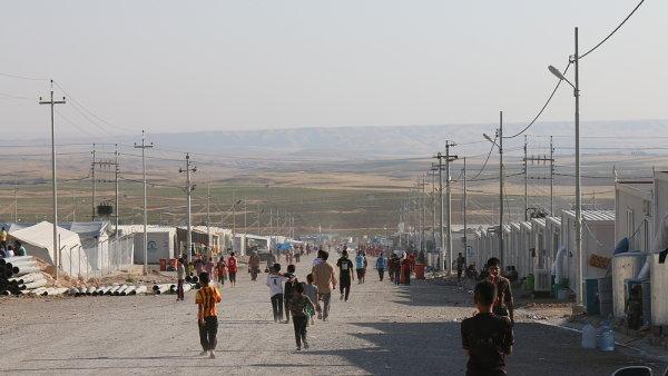 Uprchlický tábor Rwanga, Kurdistán, Irák