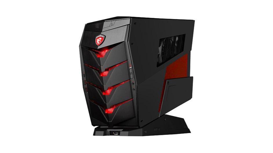 Herní počítač MSI Aegis X je snadno přenositelný
