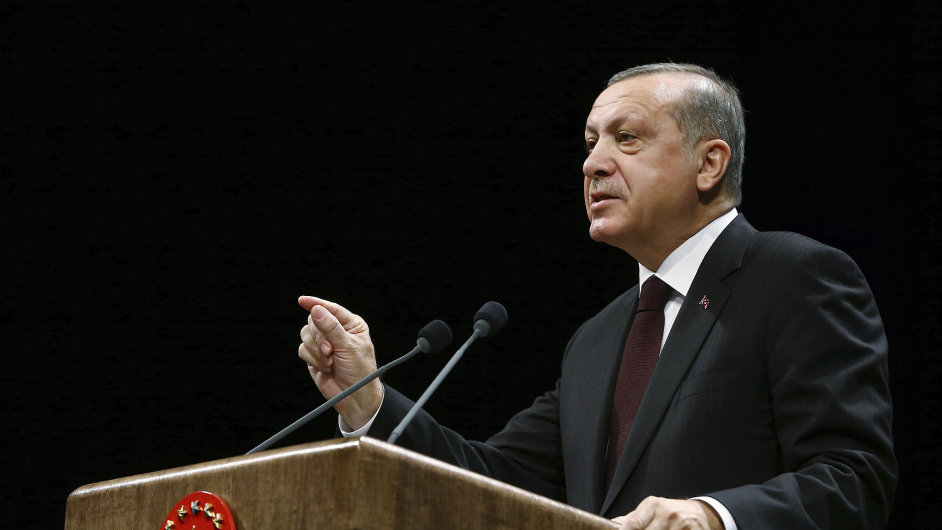 Turecko prezident Erdogan