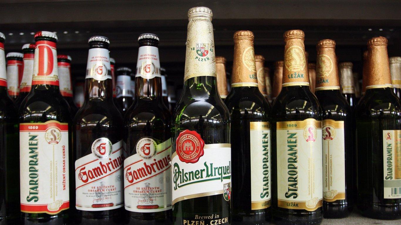 České pivo, ilustrační foto