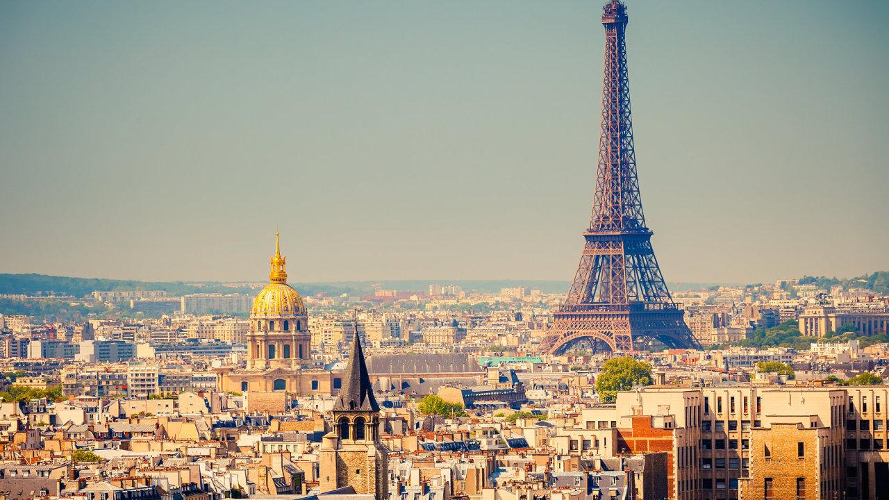 Paříž. Ilustrační foto.