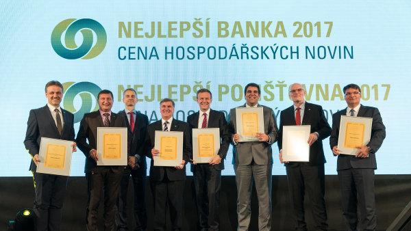 Skupina ČSOB má letos nejlepší banku i životní pojišťovnu.