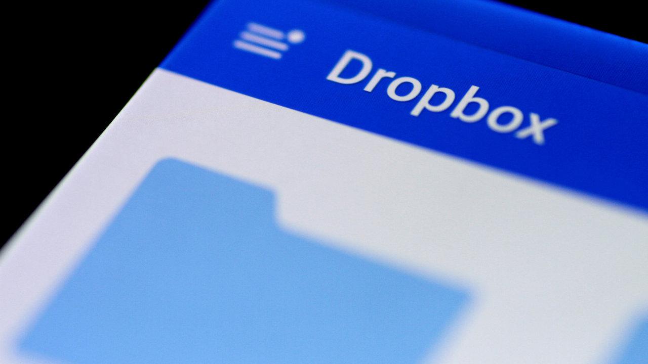 Dropbox má celosvětově miliony uživatelů - Ilustrační foto.