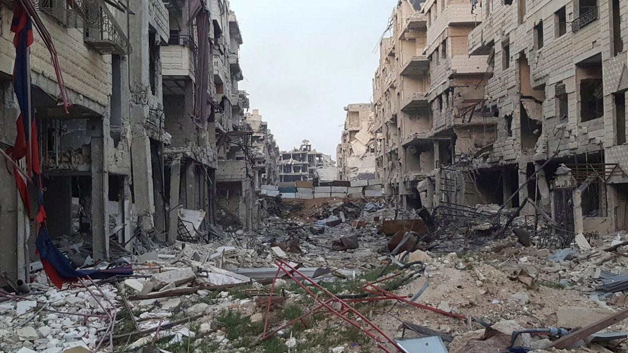 Syrská Ghúta.