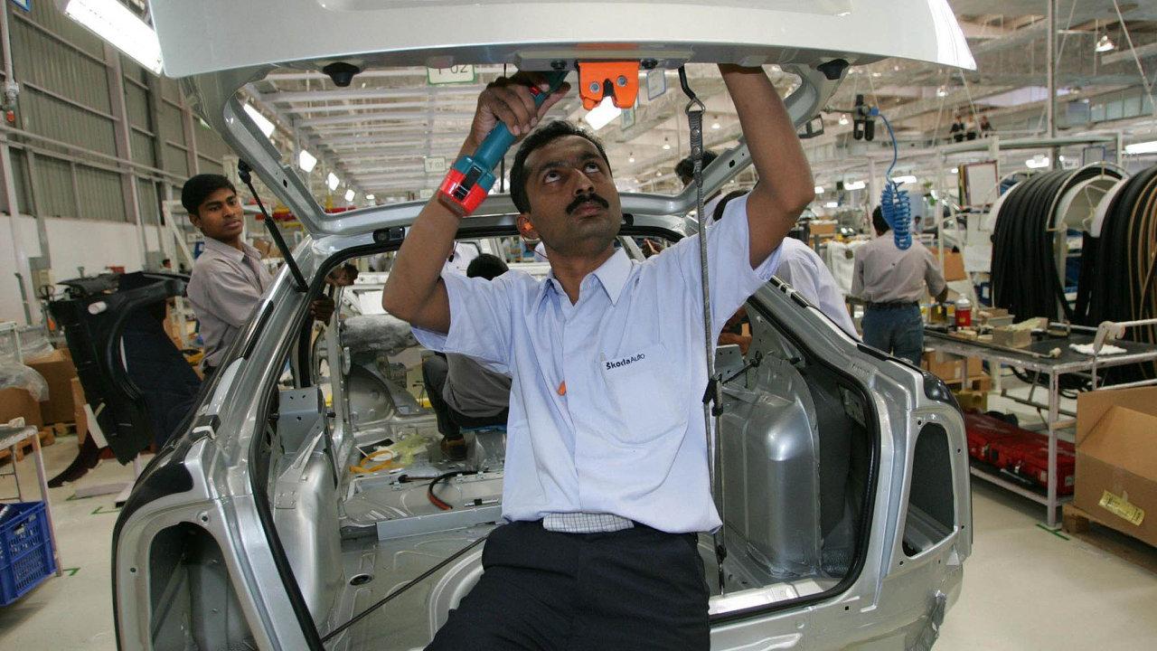 Příležitost proŠkodovku. Firma má vrámci koncernu Volkswagen vypracovat strategii, jakještě více proniknout naindický trh.