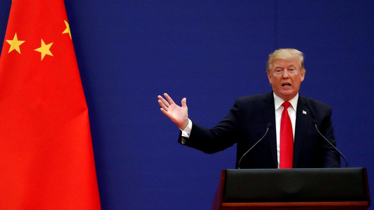 Donald Trump prohlásil, že věří, že se obchodní dohodu tento týden podaří uzavřít.