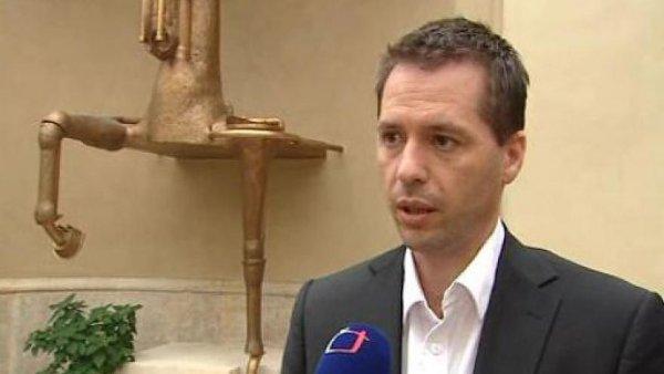 Stanislav Brunclík ještě jako mluvčí ministra kultury