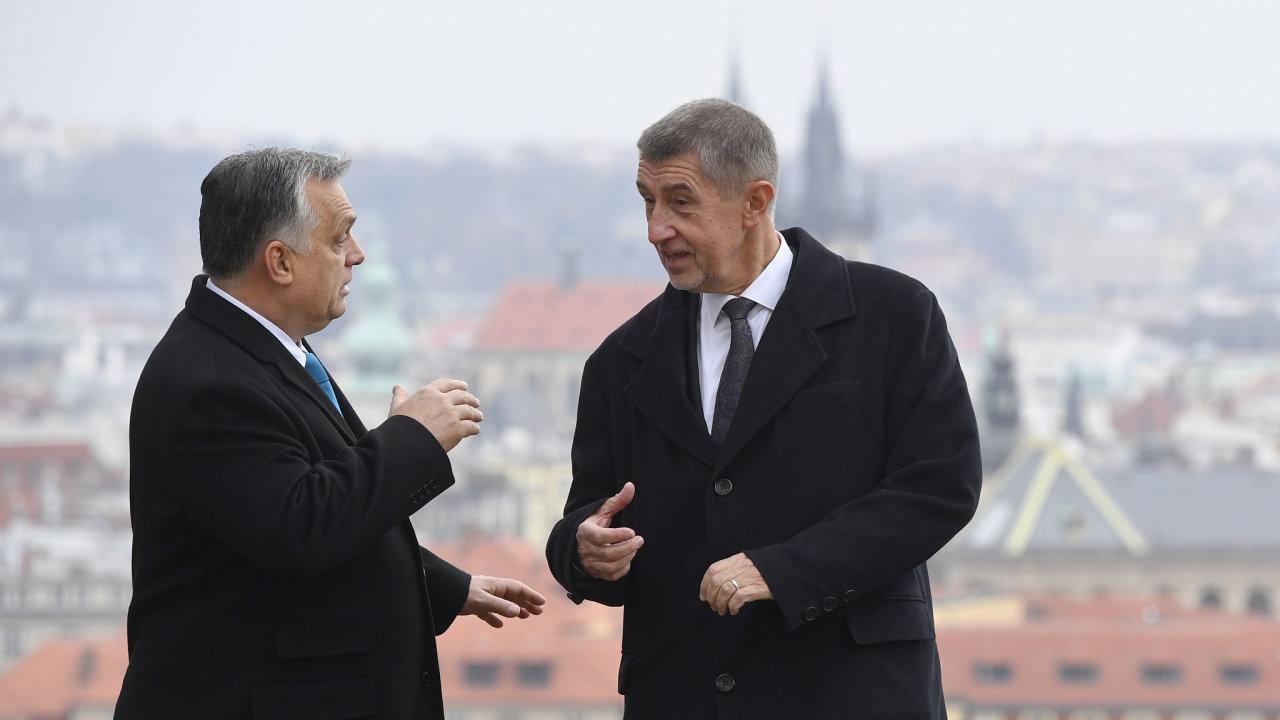 Viktor Orbán a Andrej Babiš.